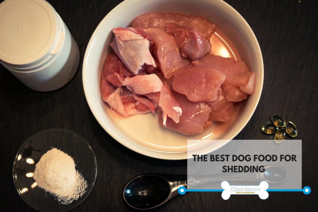 homemade dog food for shedding