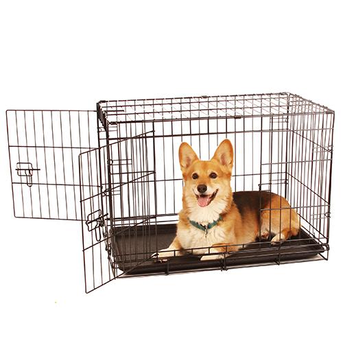medium double door crate
