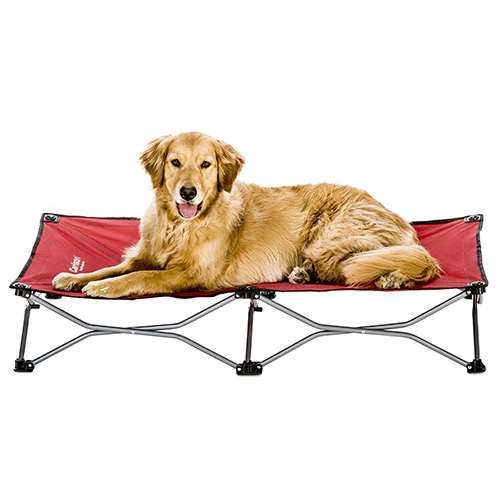 carlson large red dog cot